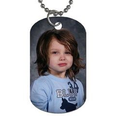 Dog Tag 1 By Andrea   Dog Tag (two Sides)   Ypiy3trogwto   Www Artscow Com Front
