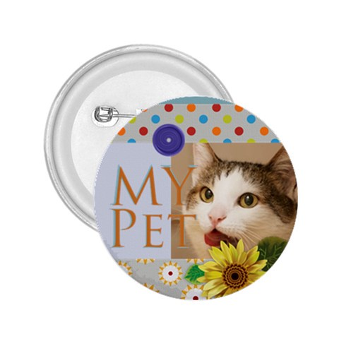 My Pet By Joely   2 25  Button   Nni9dx3lwuoc   Www Artscow Com Front