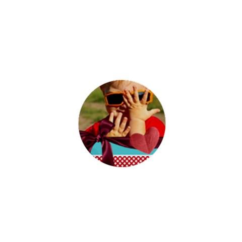Happy Kids By Joely   1  Mini Button   Vdvvk5638du8   Www Artscow Com Front