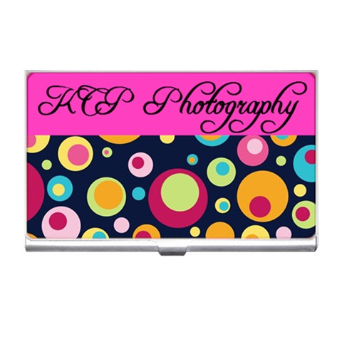 Kcp By Kim Payne   Business Card Holder   Aarsplrth2ww   Www Artscow Com Front