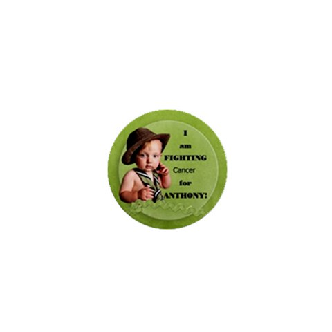 Fight For Anthony By Diann   1  Mini Button   A0dq7o2mkh9w   Www Artscow Com Front