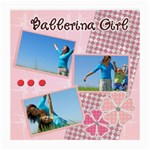 Ballerina Girl - Medium Glasses Cloth
