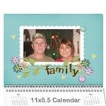 debbie - Wall Calendar 11  x 8.5  (12-Months)