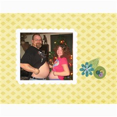 Debbie By Rachel Wood   Wall Calendar 11  X 8 5  (12 Months)   Aljnv8mp5hoj   Www Artscow Com Month