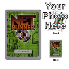 Runner   Open Wars By Luis Gonzalez   Multi Purpose Cards (rectangle)   3tprcmlmsb3w   Www Artscow Com Back 50