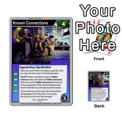 Open War   Corp Deck By Luis Gonzalez   Multi Purpose Cards (rectangle)   6fpfuyoomvs2   Www Artscow Com Front 52