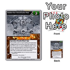 Open War   Corp Deck By Luis Gonzalez   Multi Purpose Cards (rectangle)   6fpfuyoomvs2   Www Artscow Com Front 2