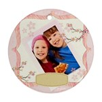 Happy kids - Ornament (Round)