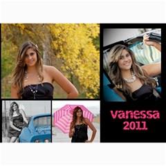 Senior Announcement By Krystal Vigil   5  X 7  Photo Cards   M3j9kuy3vjcv   Www Artscow Com 7 x5 Photo Card - 3