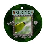 Spring Round Ornament - Ornament (Round)