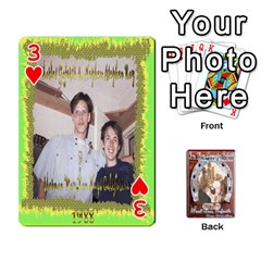 Steohen & Pamelas Cards  By Pamela Sue Goforth   Playing Cards 54 Designs   Rjq0zdgdkbnb   Www Artscow Com Front - Heart3