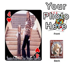 Steohen & Pamelas Cards  By Pamela Sue Goforth   Playing Cards 54 Designs   Rjq0zdgdkbnb   Www Artscow Com Front - Heart4