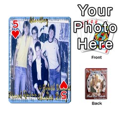 Steohen & Pamelas Cards  By Pamela Sue Goforth   Playing Cards 54 Designs   Rjq0zdgdkbnb   Www Artscow Com Front - Heart5
