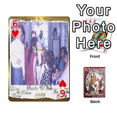 Steohen & Pamelas Cards  By Pamela Sue Goforth   Playing Cards 54 Designs   Rjq0zdgdkbnb   Www Artscow Com Front - Heart6