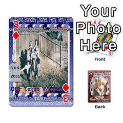 Steohen & Pamelas Cards  By Pamela Sue Goforth   Playing Cards 54 Designs   Rjq0zdgdkbnb   Www Artscow Com Front - Diamond3