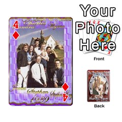 Steohen & Pamelas Cards  By Pamela Sue Goforth   Playing Cards 54 Designs   Rjq0zdgdkbnb   Www Artscow Com Front - Diamond4