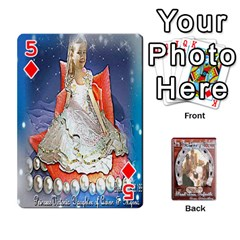 Steohen & Pamelas Cards  By Pamela Sue Goforth   Playing Cards 54 Designs   Rjq0zdgdkbnb   Www Artscow Com Front - Diamond5