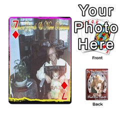 Steohen & Pamelas Cards  By Pamela Sue Goforth   Playing Cards 54 Designs   Rjq0zdgdkbnb   Www Artscow Com Front - Diamond7