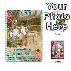 Steohen & Pamelas Cards  By Pamela Sue Goforth   Playing Cards 54 Designs   Rjq0zdgdkbnb   Www Artscow Com Front - Diamond10