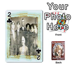 Steohen & Pamelas Cards  By Pamela Sue Goforth   Playing Cards 54 Designs   Rjq0zdgdkbnb   Www Artscow Com Front - Club2