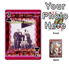 Steohen & Pamelas Cards  By Pamela Sue Goforth   Playing Cards 54 Designs   Rjq0zdgdkbnb   Www Artscow Com Front - Club3