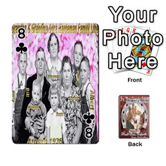 Steohen & Pamelas Cards  By Pamela Sue Goforth   Playing Cards 54 Designs   Rjq0zdgdkbnb   Www Artscow Com Front - Club8