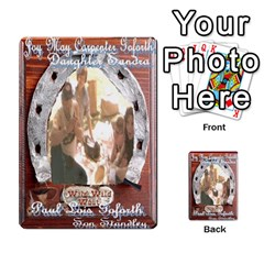 Steohen & Pamelas Cards  By Pamela Sue Goforth   Playing Cards 54 Designs   Rjq0zdgdkbnb   Www Artscow Com Back