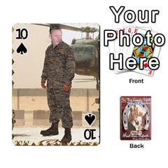 Steohen & Pamelas Cards  By Pamela Sue Goforth   Playing Cards 54 Designs   Rjq0zdgdkbnb   Www Artscow Com Front - Spade10