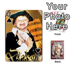 Jack Steohen & Pamelas Cards  By Pamela Sue Goforth   Playing Cards 54 Designs   Rjq0zdgdkbnb   Www Artscow Com Front - SpadeJ