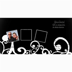 50 Wedding Invitation By Anita Kulbatski   4  X 8  Photo Cards   Ld0etp6m9r4p   Www Artscow Com 8 x4 Photo Card - 6