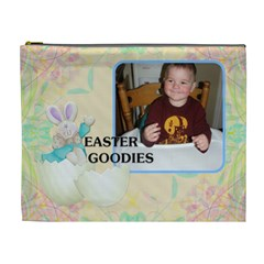 Easter Goodies Xl Cosmetic Bag By Lil    Cosmetic Bag (xl)   Jpdqm1sjyral   Www Artscow Com Front