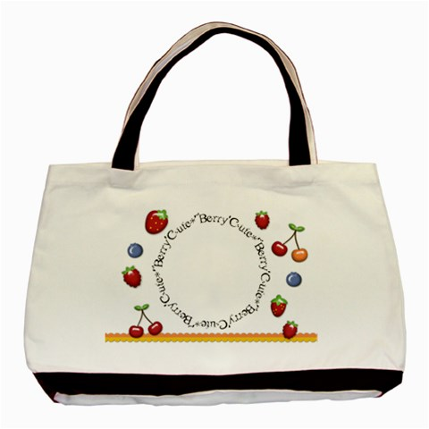 Berry Cute Tote By Shelly   Basic Tote Bag   Nrochlvc6mxq   Www Artscow Com Front