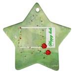 happy kids ornament - Ornament (Star)