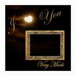 I Heart You Moon Glass Cloth Med - Medium Glasses Cloth