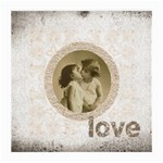 Sepia Love Medium Glasses Cloth