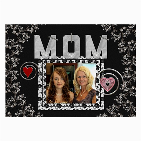 Mom Large Glasses Cloth (i Sided) By Lil    Large Glasses Cloth   Q47fb2jm4aee   Www Artscow Com Front