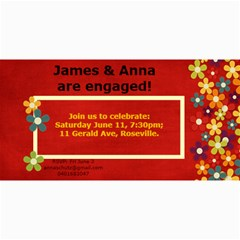 Engagement Invitation No Photo By Anna Schutz   4  X 8  Photo Cards   Abg8cgnki4wt   Www Artscow Com 8 x4 Photo Card - 2