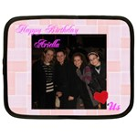 ariellas realy b-day - Netbook Case (XXL)