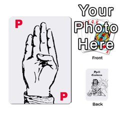 Wavinghands Spell Gesture Cards By Walt O hara   Playing Cards 54 Designs   Df9dq1w9ss5j   Www Artscow Com Front - Spade6