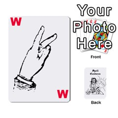 Wavinghands Spell Gesture Cards By Walt O hara   Playing Cards 54 Designs   Df9dq1w9ss5j   Www Artscow Com Front - Club10