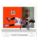 HARLEM CALENDAR2012 - Wall Calendar 11  x 8.5  (12-Months)
