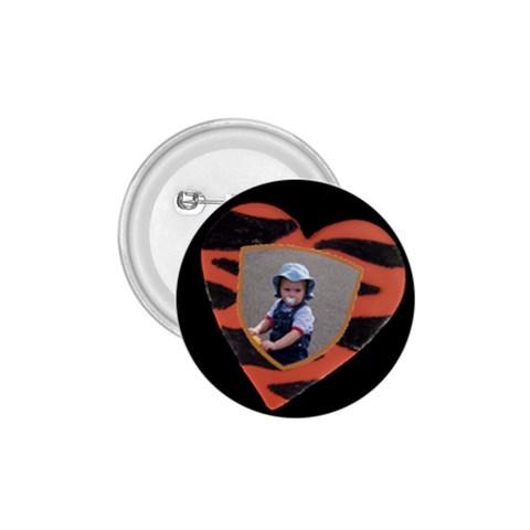 Tiger 1 75 Inch Button By Deborah   1 75  Button   Qpksfx7vx9kz   Www Artscow Com Front
