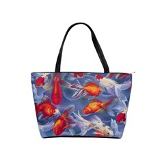 Orange Goldfish Shoulder Bag By Bags n Brellas   Classic Shoulder Handbag   Ue0040c1ch62   Www Artscow Com Front