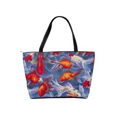 Orange Goldfish Shoulder Bag By Bags n Brellas   Classic Shoulder Handbag   Ue0040c1ch62   Www Artscow Com Back