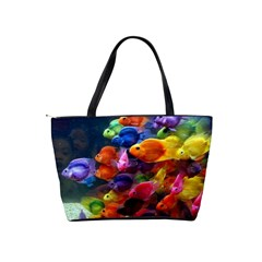 Rainbow Fish Shoulder Bag By Bags n Brellas   Classic Shoulder Handbag   Gqykn7epcaxz   Www Artscow Com Back