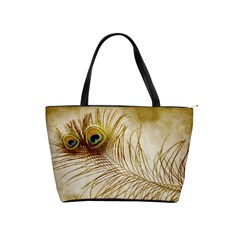 Weathered Peacock Shoulder Bag By Bags n Brellas   Classic Shoulder Handbag   O34qvwfb3h27   Www Artscow Com Front