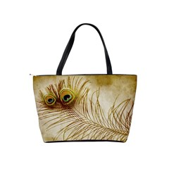 Weathered Peacock Shoulder Bag By Bags n Brellas   Classic Shoulder Handbag   O34qvwfb3h27   Www Artscow Com Back