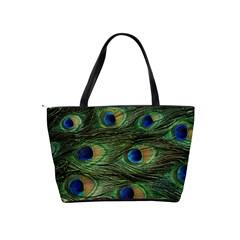 Bright Peacock Shoulder Bag By Bags n Brellas   Classic Shoulder Handbag   Uowac5vl5h1g   Www Artscow Com Back