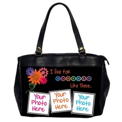 I Live For Moments Like These  2 Sides   Office Handbag By Digitalkeepsakes   Oversize Office Handbag (2 Sides)   Uj6ftkv3vpgi   Www Artscow Com Front