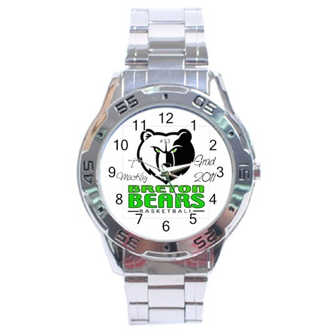 Watch For Thomas By Chantel Reid Demeter   Stainless Steel Analogue Watch   2310l1mrwjxs   Www Artscow Com Front